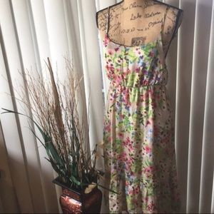 Old Navy Floral Print Dress Size M
